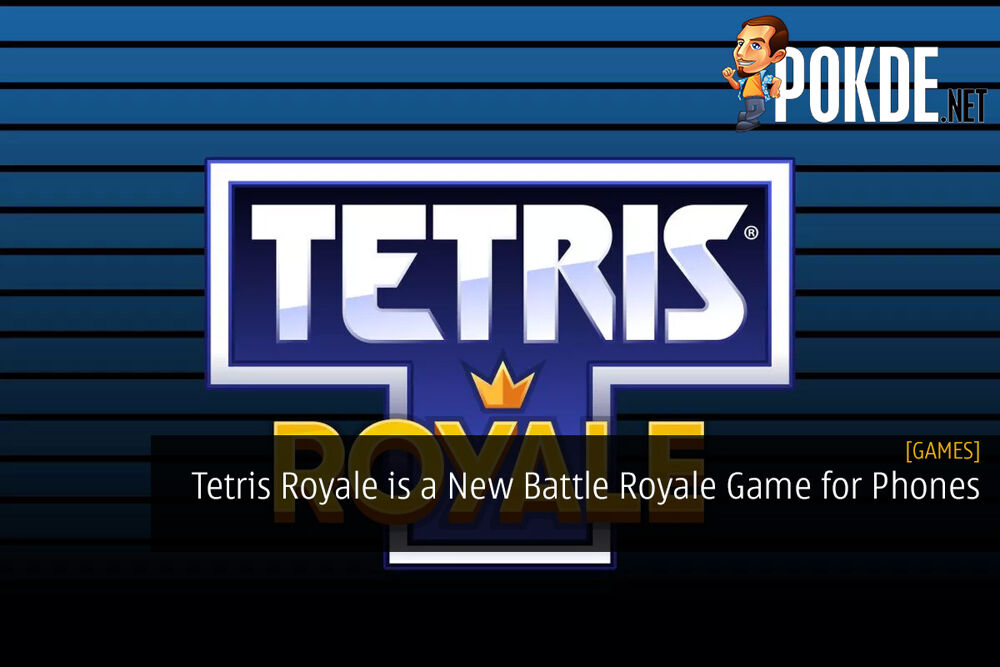 Tetris Royale is a New Battle Royale Game for Smartphone