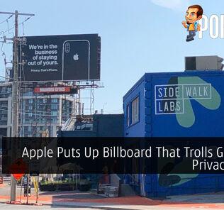 Apple Puts Up Billboard That Trolls Google's Privacy Issue 20