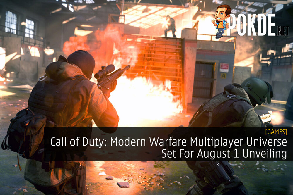 Call of Duty: Modern Warfare Multiplayer Universe Set For August 1 Unveiling 24