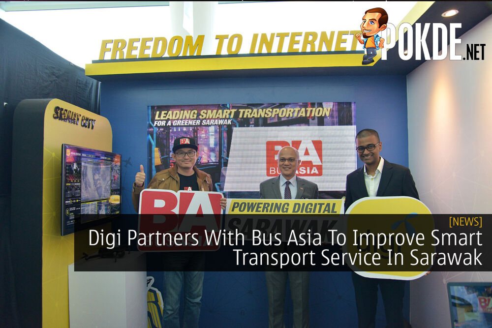 Digi Partners With Bus Asia To Improve Smart Transport Service In Sarawak 21