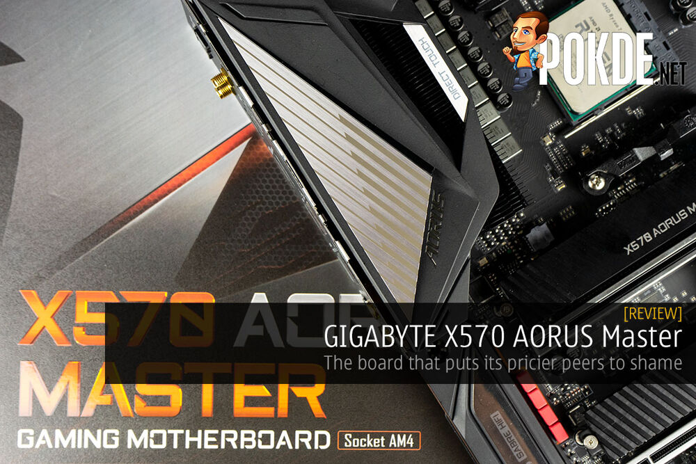 GIGABYTE X570 AORUS Master Review — the board that puts its pricier peers to shame 18
