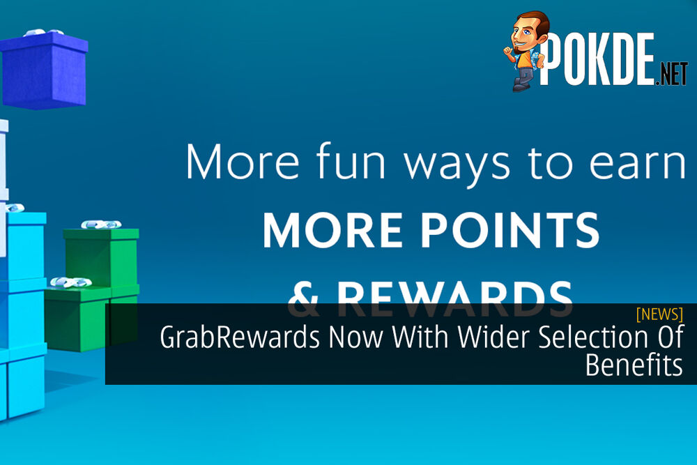 GrabRewards Now With Wider Selection Of Benefits 21