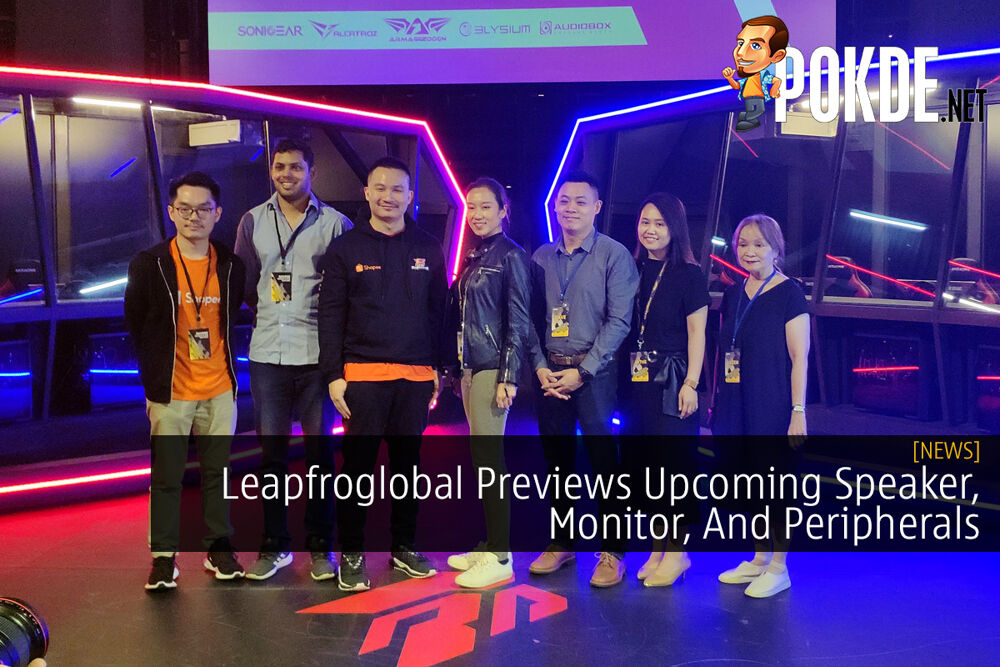 Leapfroglobal Previews Upcoming Speaker, Monitor, And Peripherals 29