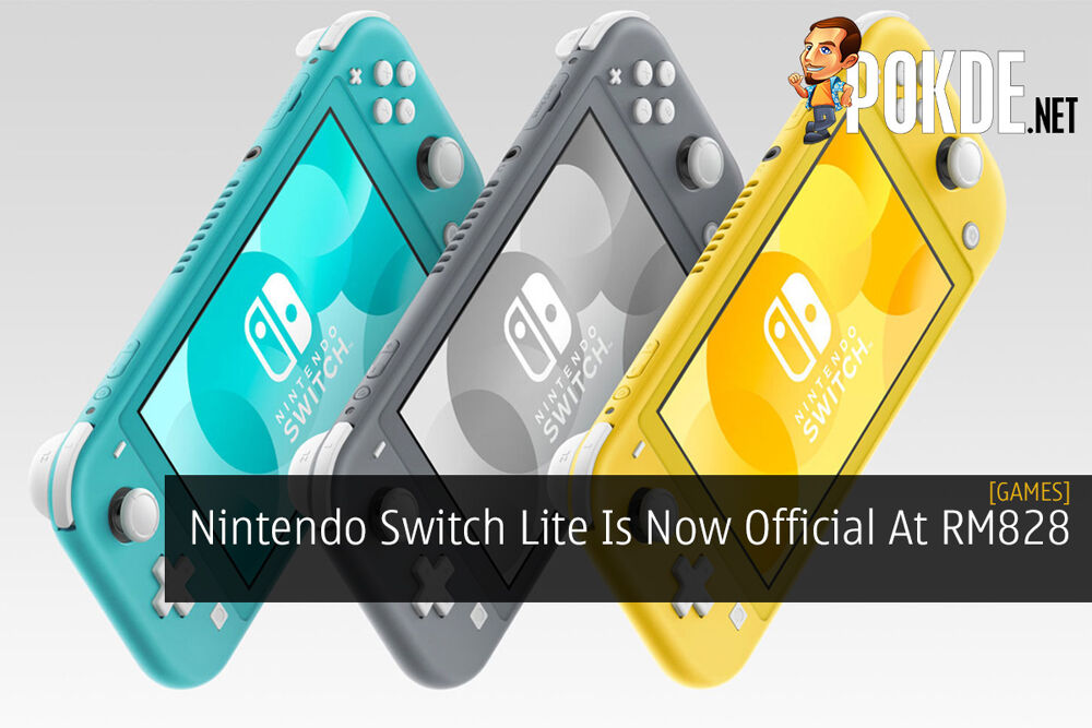 Nintendo Switch Lite Is Now Official At RM828 22