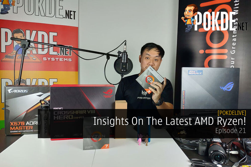 PokdeLIVE 21 — Insights On The Latest AMD Ryzen! 19
