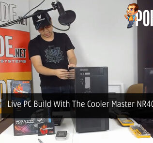 PokdeLIVE 18 — Live PC Build With The Cooler Master NR400 Case! 40