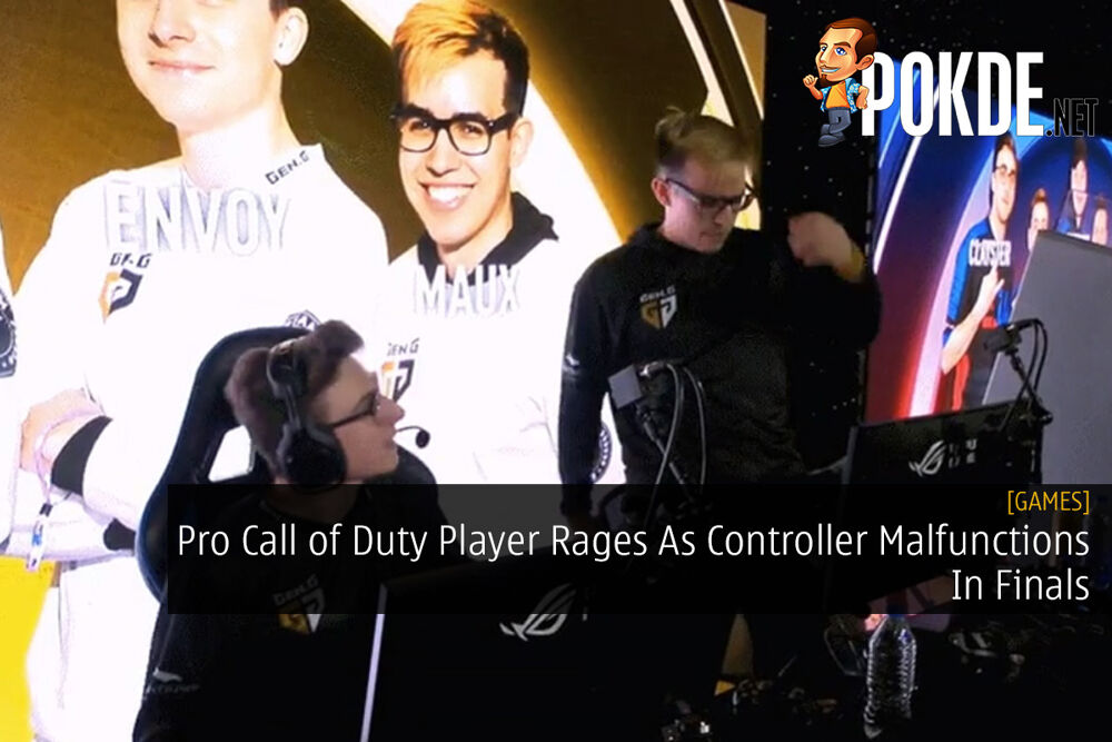 Pro Call of Duty Player Rages As Controller Malfunctions In Finals 19