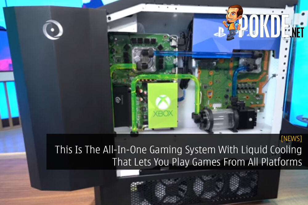 This Is The All-In-One Gaming System With Liquid Cooling That Lets You Play Games From All Platforms 21