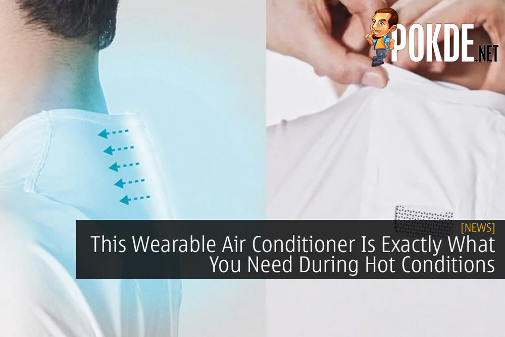 This Wearable Air Conditioner Is Exactly What You Need During Hot Conditions 23