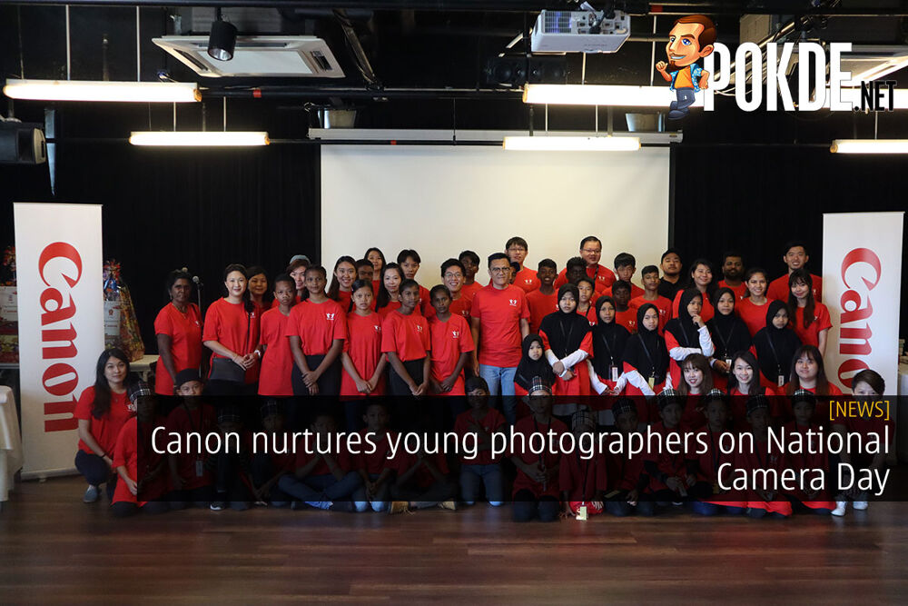 Canon nurtures young photographers on National Camera Day 23