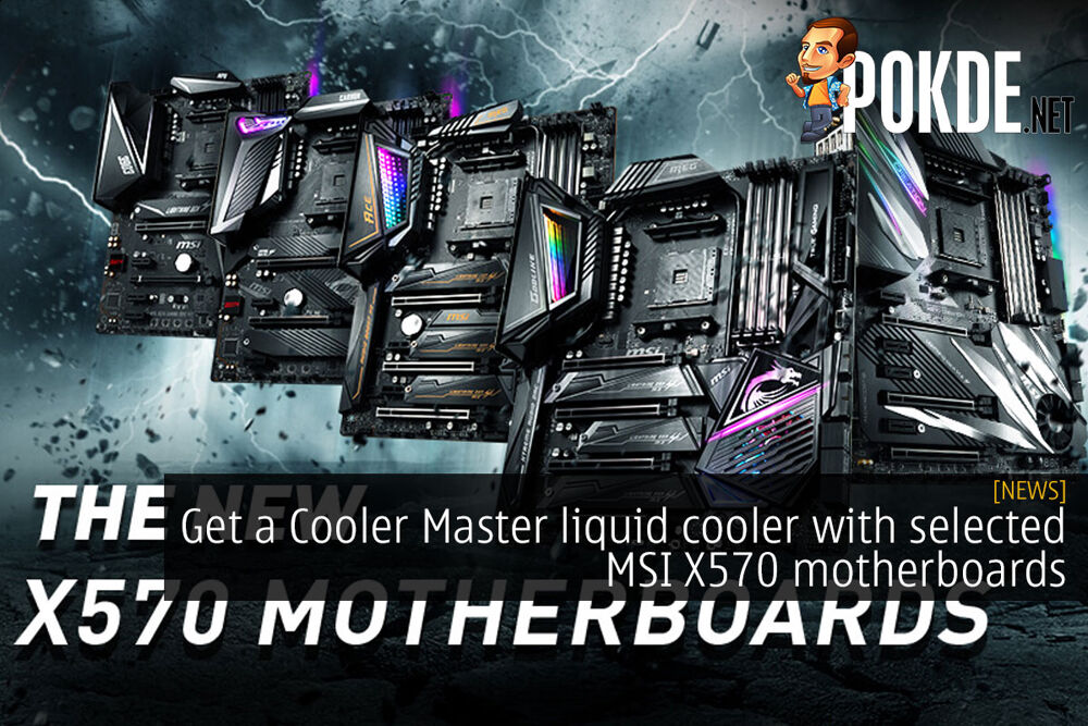Get a Cooler Master liquid cooler with selected MSI X570 motherboards 26