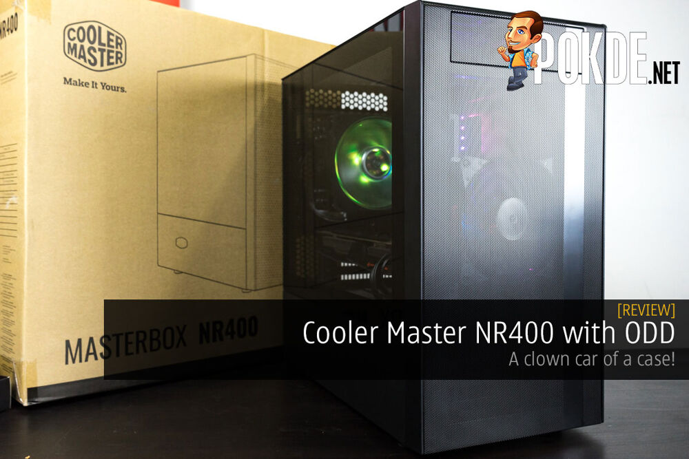 Cooler Master NR400 with ODD Review — a clown car of a case! 19