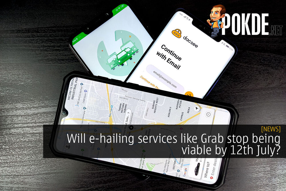 Will e-hailing services like Grab stop being viable by 12th July? 16