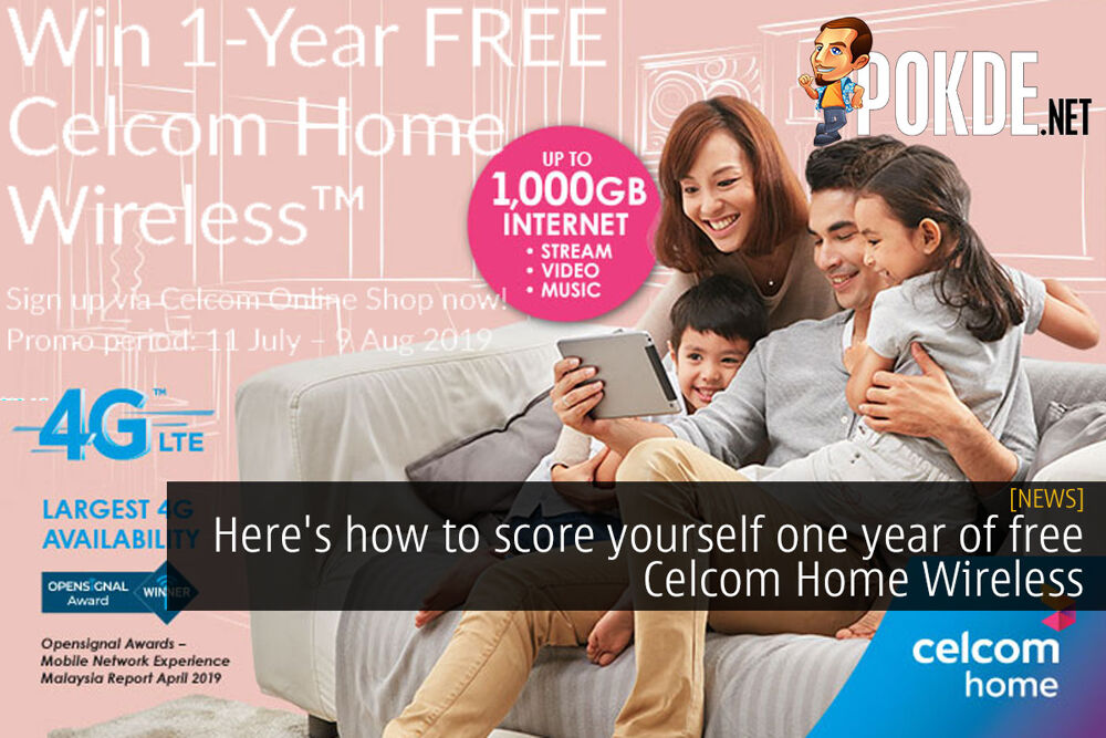 Here's how to score yourself one year of free Celcom Home Wireless 16