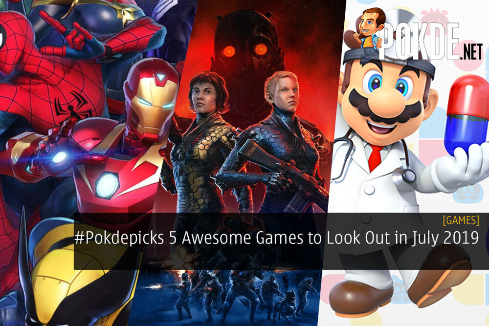 #Pokdepicks 5 Awesome Games to Look Out for in July 2019 19