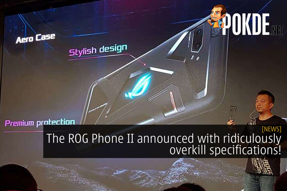 The ROG Phone II announced with ridiculously overkill specifications! 21