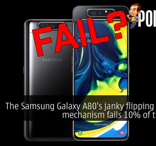 [UPDATED] The Samsung Galaxy A80's janky flipping camera mechanism fails 10% of the time 29