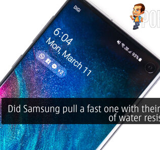 Did Samsung pull a fast one with their claims of water resistance? 33