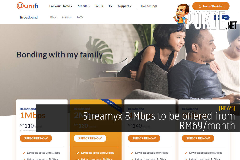 Streamyx 8 Mbps to be offered from RM69/month 21