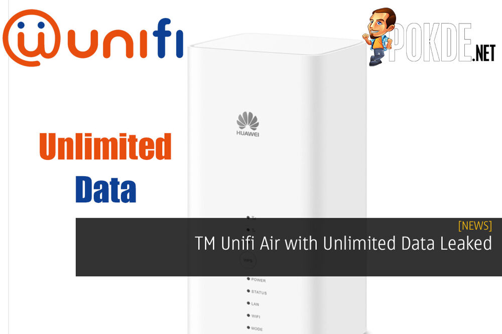TM Unifi Air with Unlimited Data Leaked