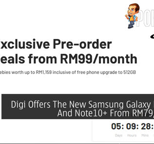 Digi Offers The New Samsung Galaxy Note10 And Note10+ From RM79/Month 29