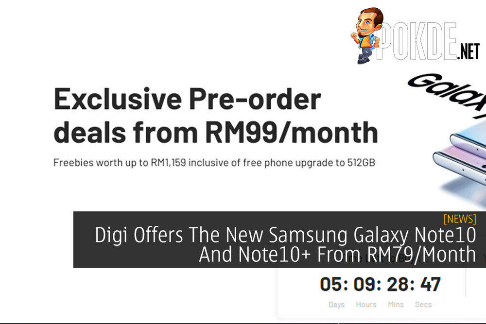 Digi Offers The New Samsung Galaxy Note10 And Note10+ From RM79/Month 21