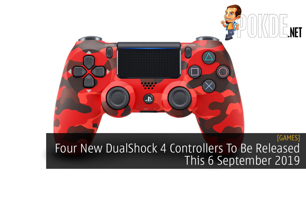 Four New DualShock 4 Controllers To Be Released This 6 September 2019 19
