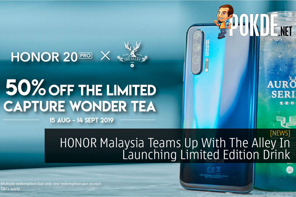 HONOR Malaysia Teams Up With The Alley In Launching Limited Edition Drink 23