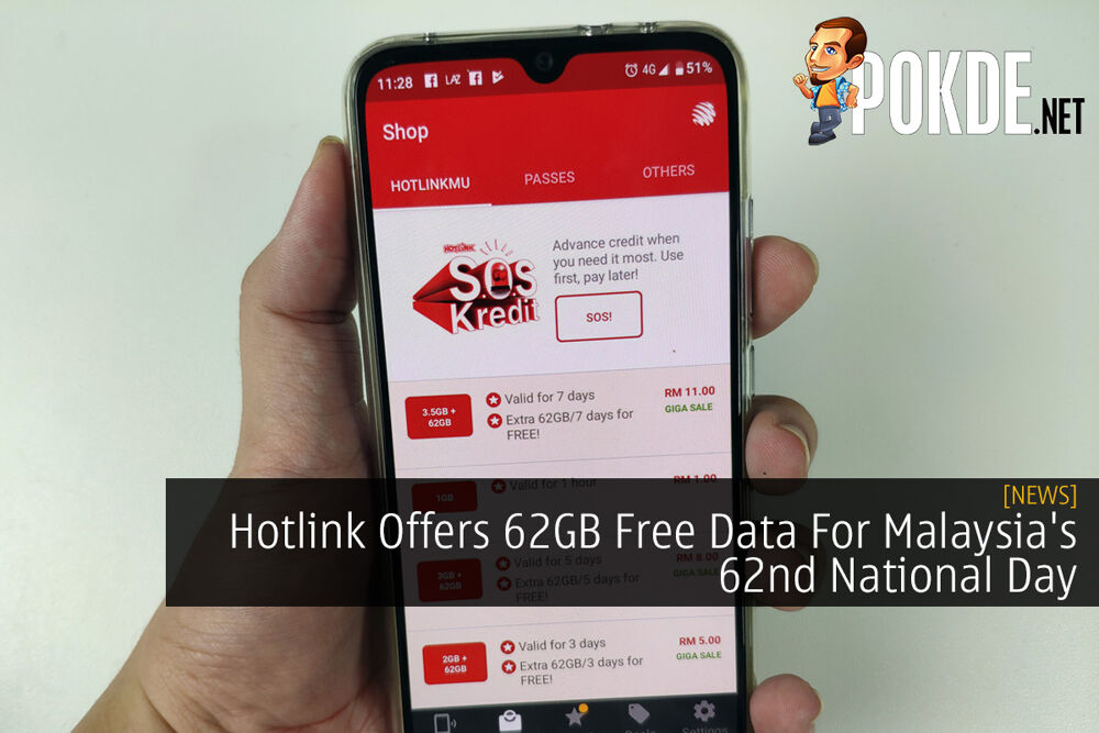 Hotlink Offers 62GB Free Data For Malaysia's 62nd National Day 21