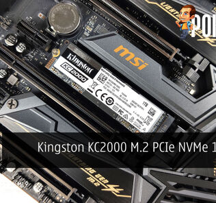 Kingston KC2000 M.2 PCIe NVMe 1TB SSD Review 21