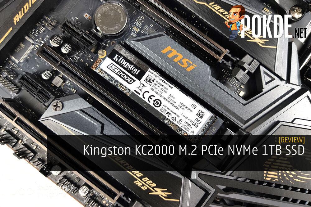 Kingston KC2000 M.2 PCIe NVMe 1TB SSD Review 20