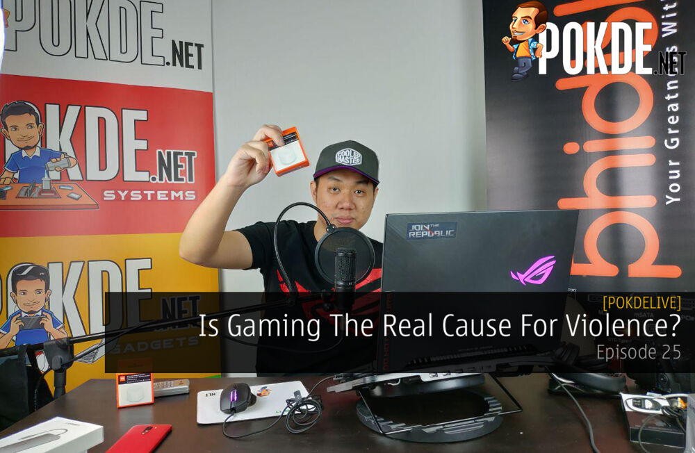 PokdeLIVE 25  — Is Gaming The Real Cause For Violence? 21