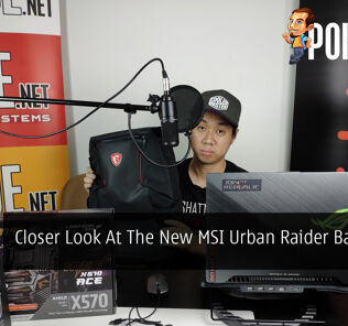 PokdeLIVE 28 — Closer Look At The New MSI Urban Raider Backpack! 28