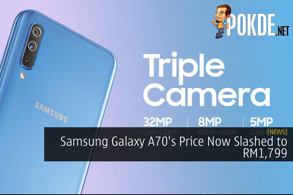 Samsung Galaxy A70's Price Now Slashed to RM1,799 20