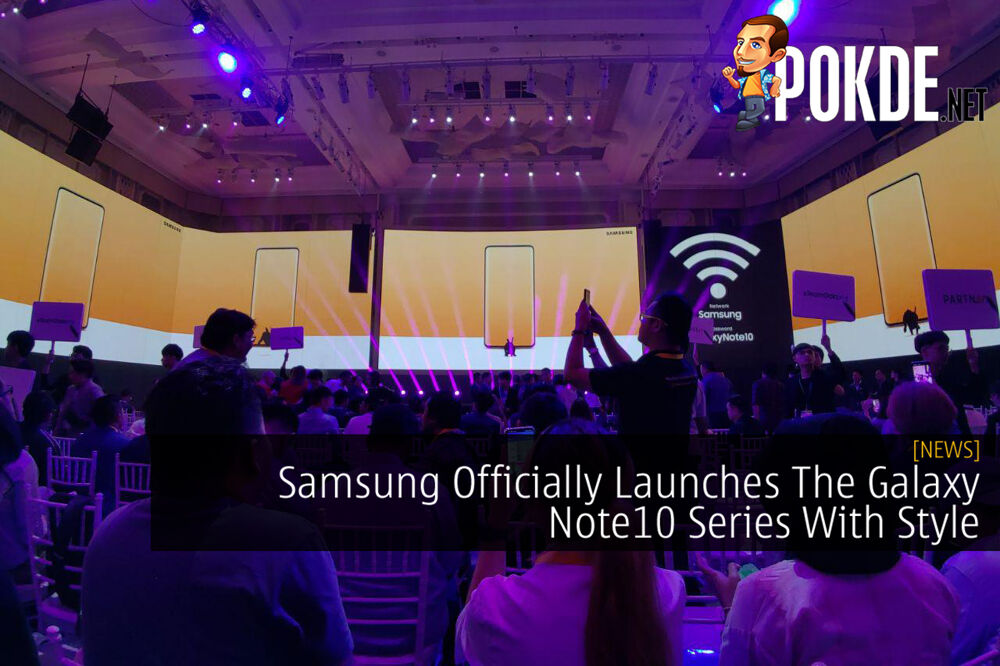 Samsung Officially Launches The Galaxy Note10 Series With Style 25