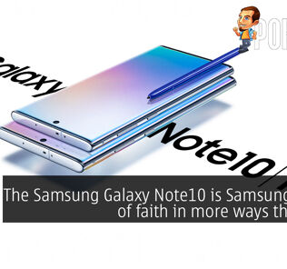 The Samsung Galaxy Note10 is Samsung's leap of faith in more ways than one 30