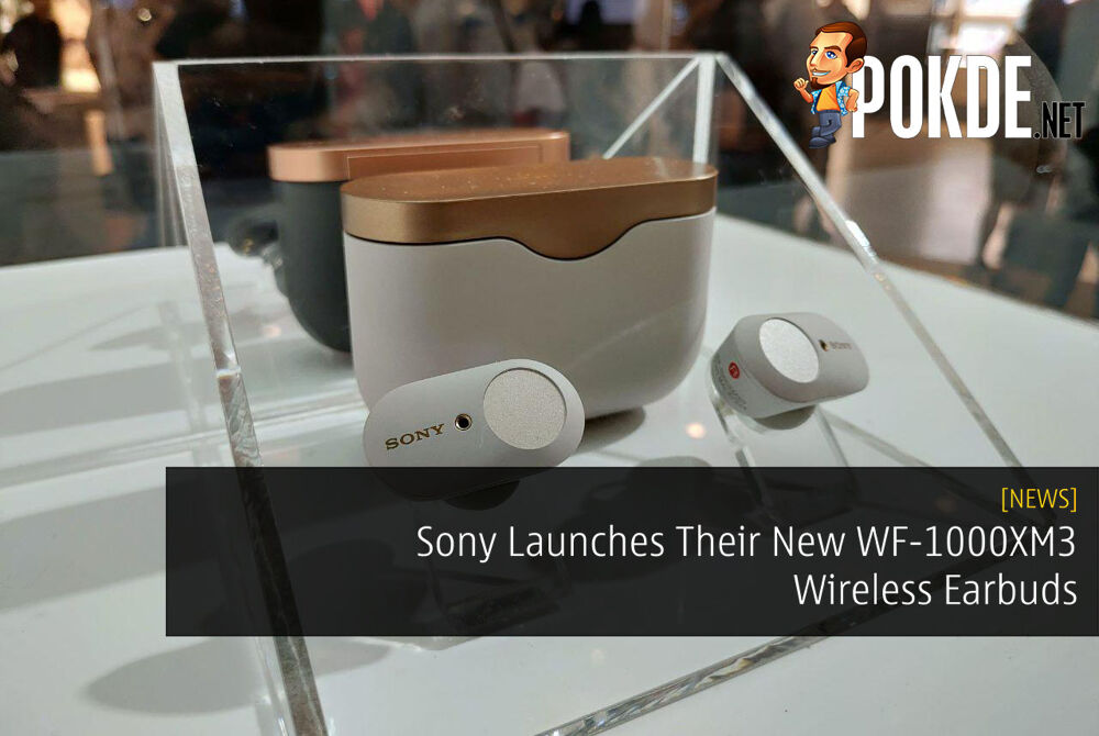 Sony Launches Their New WF-1000XM3 Wireless Earbuds 32