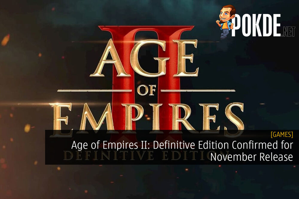 Age of Empires II: Definitive Edition Confirmed for November Release