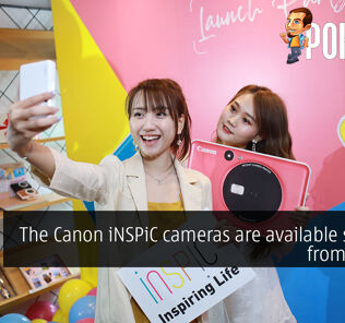 The Canon iNSPiC cameras are available starting from RM499 32