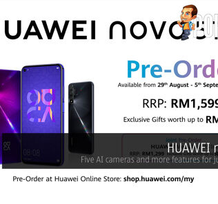 HUAWEI nova 5T — five AI cameras and more features for just RM1599 29