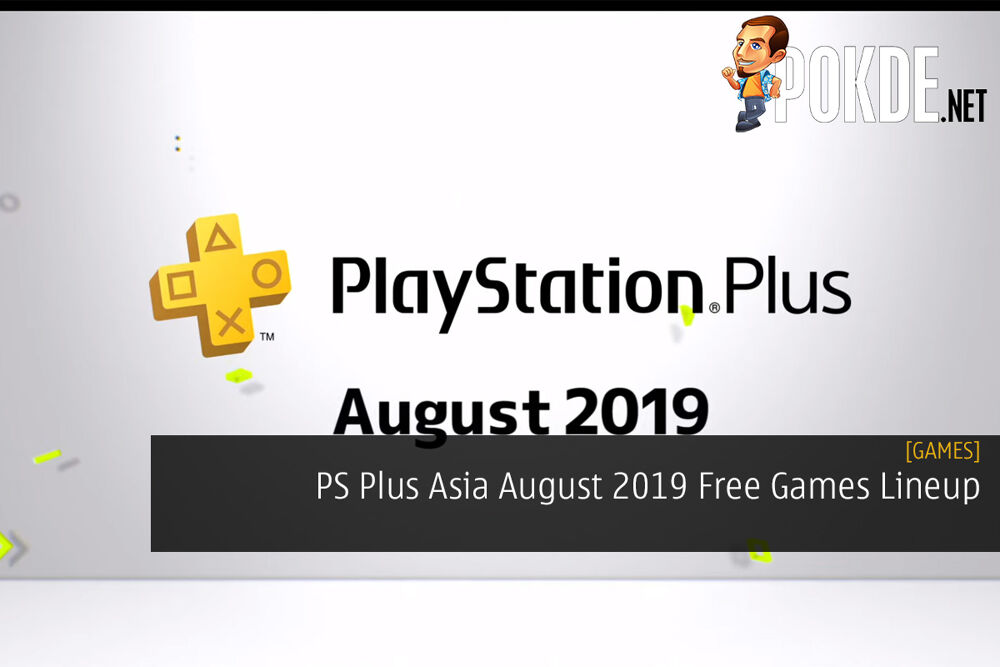 PS Plus asia August 2019 Free Games Lineup