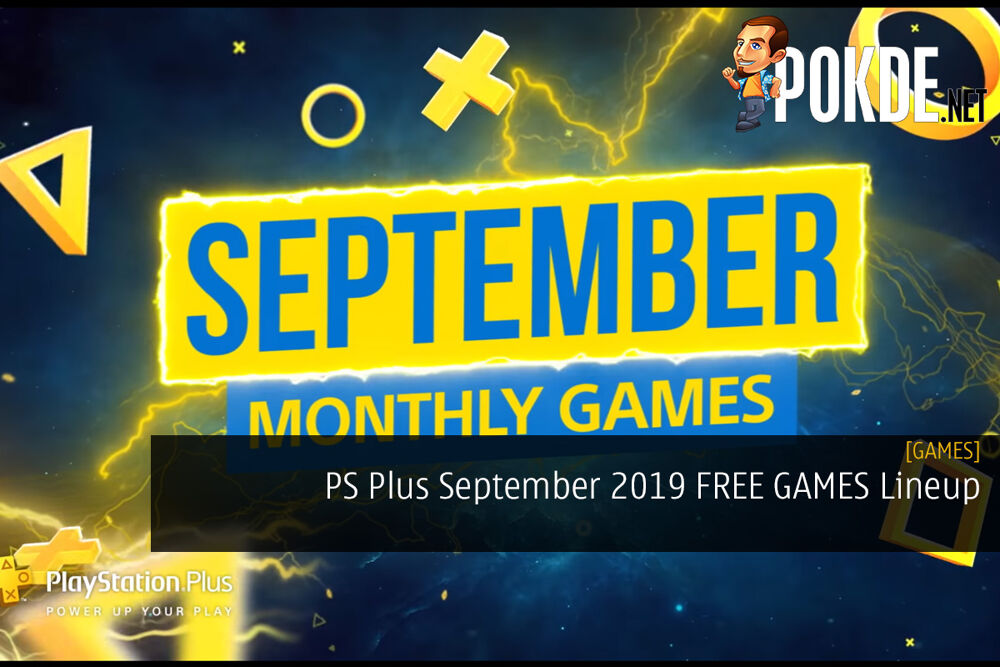 PS Plus September 2019 FREE GAMES Lineup