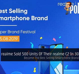 realme Sold 500 Units Of Their realme C2 In 30 Minutes — Become The Best Selling Smartphone Brand On Shopee 22