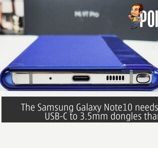 The Samsung Galaxy Note10 needs pricier USB-C to 3.5mm dongles than usual 39
