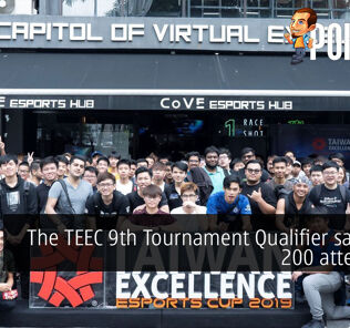 The TEEC 9th Tournament Qualifier saw over 200 attendees! 31