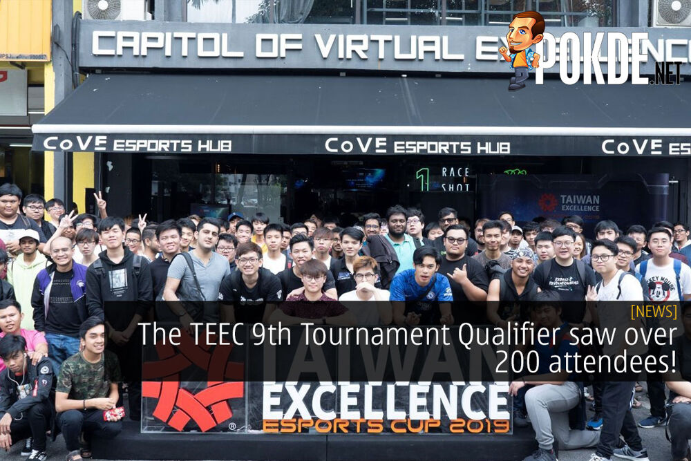 The TEEC 9th Tournament Qualifier saw over 200 attendees! 20