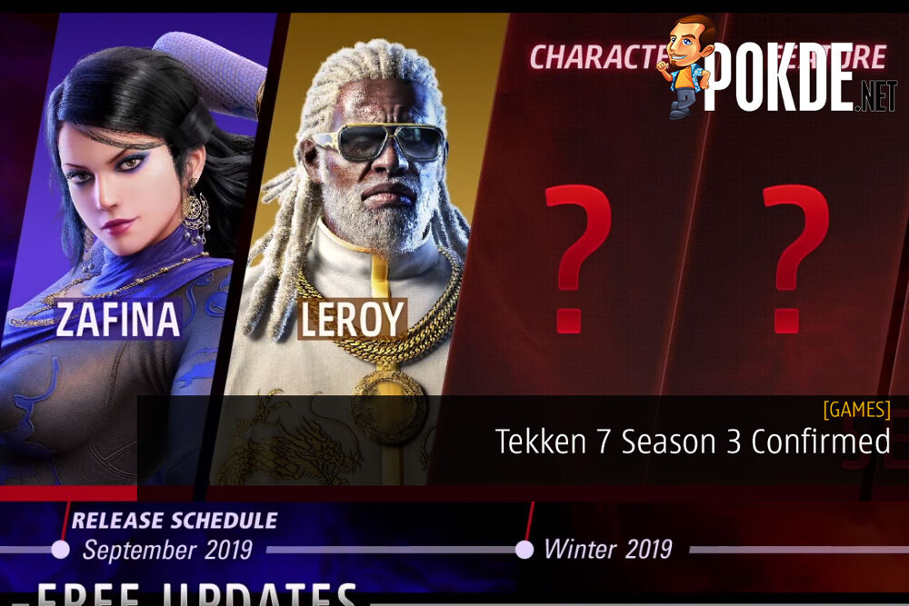 Tekken 7 Season 3 Confirmed Four New Characters Coming Pokde Net