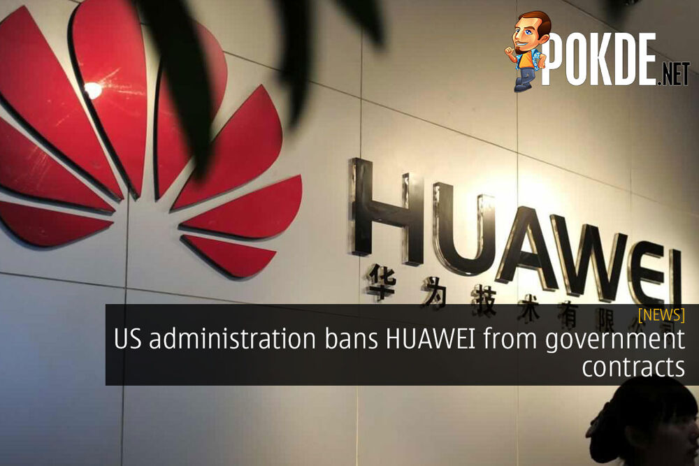 US administration bans HUAWEI from government contracts 16