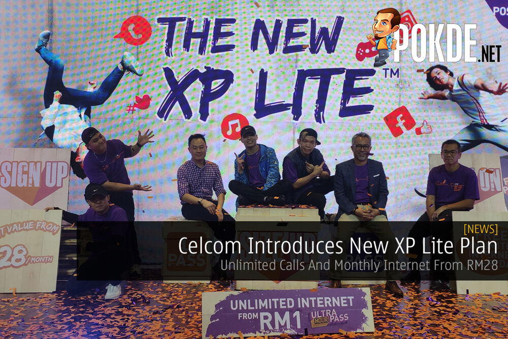 Celcom Introduces New XP Lite Plan — Unlimited Calls And Monthly Internet From RM28 18