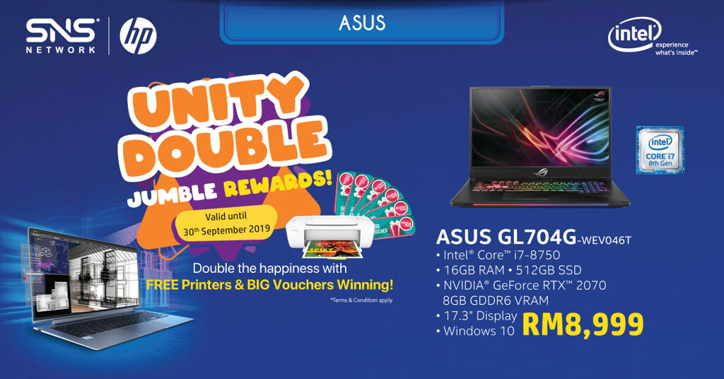 Get a free printer and win cash vouchers with the Intel® Revolution Bonanza Campaign 28